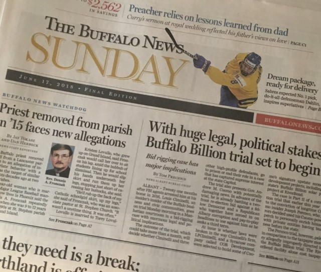 Given The Fiscal State Of The News Industry The Changes Underway At The Buffalo News Are Not Unique To Offset Revenue Losses Newspapers Across The Nation